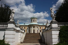 Palace.  Museum-estate Arkhangelskoe. Russia Stock Photography