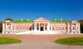 Palace at the museum-estate Kuskovo Royalty Free Stock Images