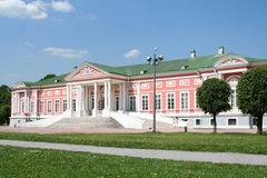 Palace at the museum-estate Kuskovo. Royalty Free Stock Image