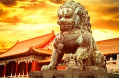 The Palace Museum in the Forbidden City stock photo