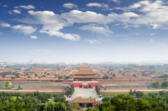 The Palace Museum in the Forbidden Stock Photo