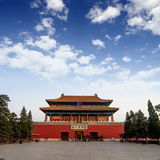 The Palace Museum in the Forbidden Royalty Free Stock Image