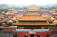 Palace of museum. Is located in Beijing,China Royalty Free Stock Images