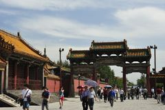 The Palace Museum of Shenyang Stock Photography