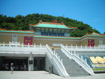Palace of museum Taipei. Taiwan photoed in july 2011 Stock Photography