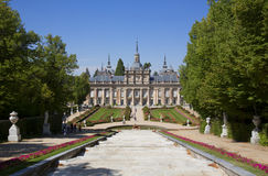 PALACE. ON OF THE MUST VISITED HISTORIC MONUMENTS IN SEGOVIA SPAIN Royalty Free Stock Photography