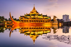 Palace of Myanmar Royalty Free Stock Photography