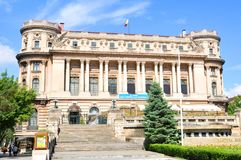 Palace of the National Military Circle in Bucharest, Romania Stock Images