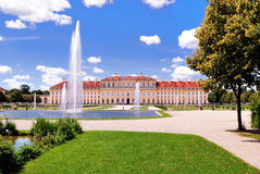 Palace near Munich Royalty Free Stock Image