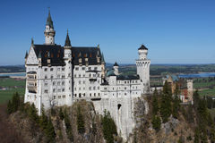 Palace Neuschwanstein, Bavaria, Germany Royalty Free Stock Image