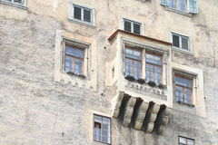 Palace niche in Cesky Krumlov Royalty Free Stock Photography