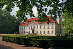 Palace in Nieborow. Nieborow  park-palace old magnats residence in Poland Royalty Free Stock Photos