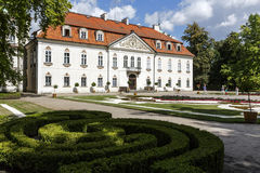 The Palace in Nieborow Royalty Free Stock Photography