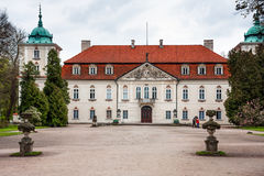 Palace in Nieborow Village Royalty Free Stock Photo