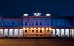 Palace at night. Stock Photos