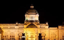 Palace at night. Stock Photos