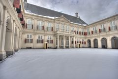 Palace Noordeinde in The Hague Stock Photography
