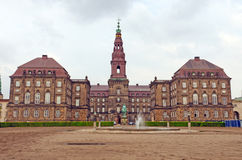 Palace in Northern Europe Royalty Free Stock Photo