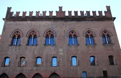 Palace of the Notaries in Bologna in Emilia Romagna (Italy) Stock Photo