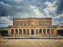 Palace in Noto Royalty Free Stock Photo