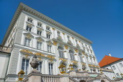 Palace of Nymphenburg Royalty Free Stock Photography