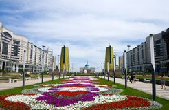 Palace oа President. Astana Stock Image