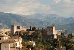 Palace Of Alhambra, Granada, Spain. Stock Photos