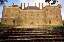 Palace Of Duques De Braganca Royalty Free Stock Photo