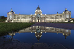 Free Palace Of Farmers - Ministry Of Environment And Agriculture. Palace Square In Kazan, Republic Of Tatarstan, Russia Royalty Free Stock Photo - 97438115
