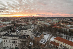 Palace Of The Grand Dukes Of Lithuania And Vilnius Stock Images