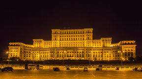 Free Palace Of The Parliament In Bucharest Stock Images - 46593664