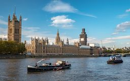 Free Palace Of Westminster And The Houses Of Parliament, London Royalty Free Stock Image - 132663126