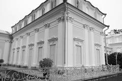 Palace in Oranienbaum. Stock Image