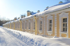 Palace in Oranienbaum, Russia Royalty Free Stock Photos