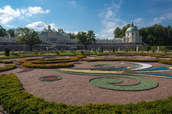 The Palace of Oranienbaum Royalty Free Stock Images