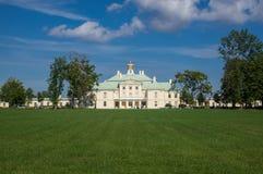 The Palace of Oranienbaum Stock Image