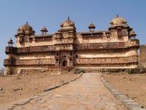 Palace in Orcha. Madhya Pradesh Royalty Free Stock Images