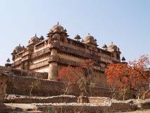 Palace in Orcha. Madhya Pradesh Stock Image
