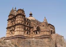 Palace in Orcha. Madhya Pradesh Royalty Free Stock Photography