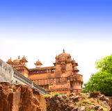 Palace in Orcha, Madhya Pradesh state, India Stock Photography