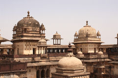 Palace in Orcha, Madhya Pradesh state, India Royalty Free Stock Image