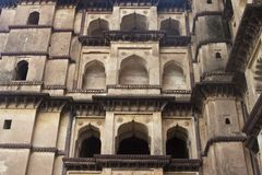 Palace in Orchha Royalty Free Stock Photo