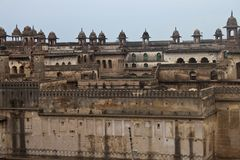 Palace in Orchha Royalty Free Stock Image