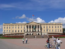 Palace in Oslo Stock Photography