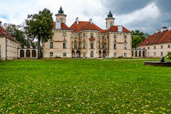 Palace in the Otwock Wielki in Poland Stock Image