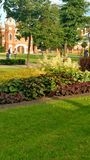 Palace and park. Park around the palace Princess of Oldenburg Royalty Free Stock Photos