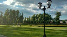 Palace and park. Park around the palace Princess of Oldenburg Royalty Free Stock Photo