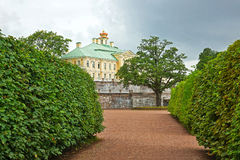 Palace and Park ensemble  in Oranienbaum Stock Photography