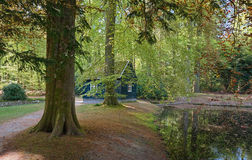 The palace park part of the Crown Estates in Apeldoorn Stock Images