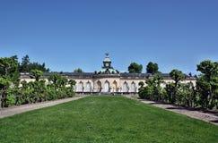 Palace in the park Sanssouci Stock Photo